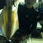 28年8月8日イカ釣り、イカ泳がせ
