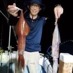 2年7月20日イカ釣り
