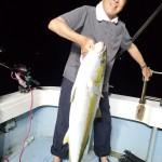 2年7月31日   イカ釣り、泳がせ